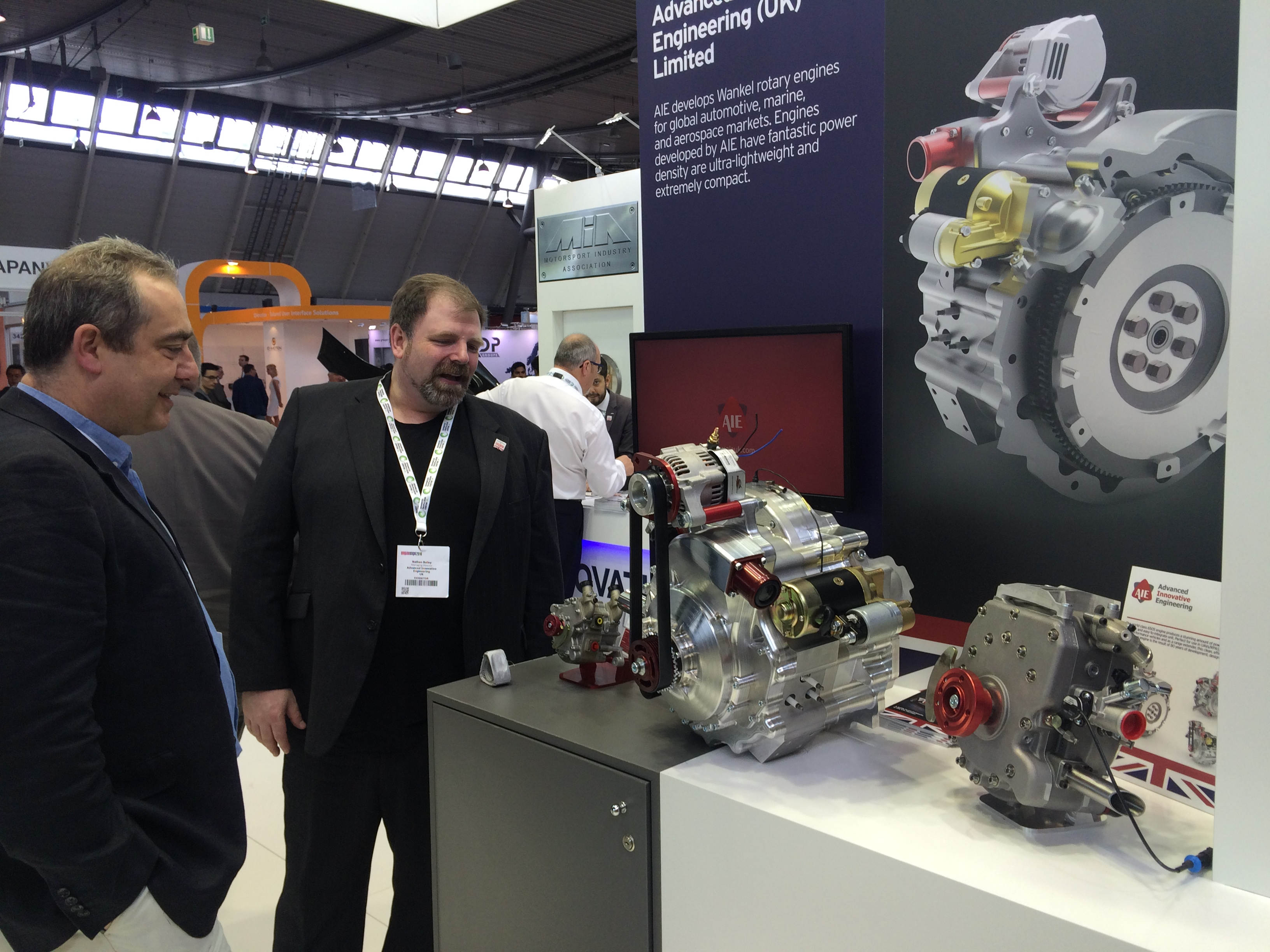 Low Emission High Power Rotary Revs Up Interest at Engine Expo 2016