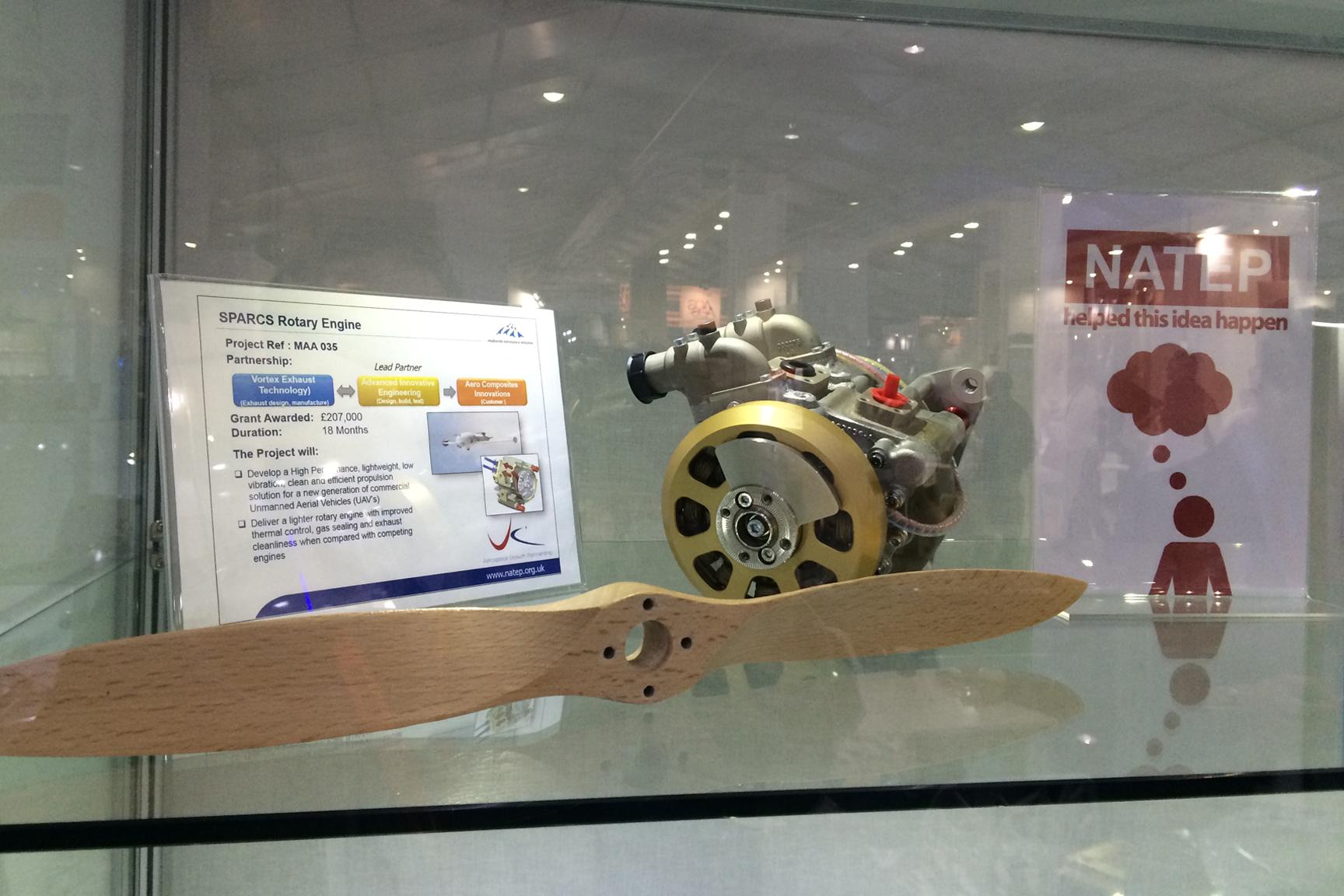 40S UAV Rotary Engine Ready for NATEP Showcase