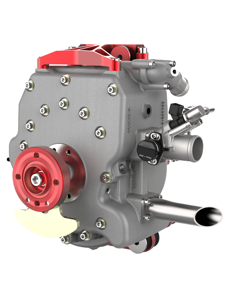 225CS – 40 BHP Wanke Rotary Engine