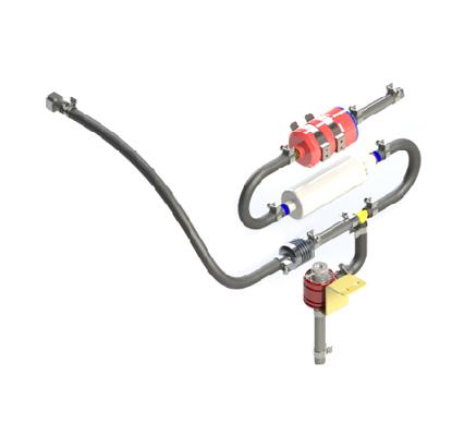 Fuel System OF 225CS-017 – 40 BHP UAV Propulsion System